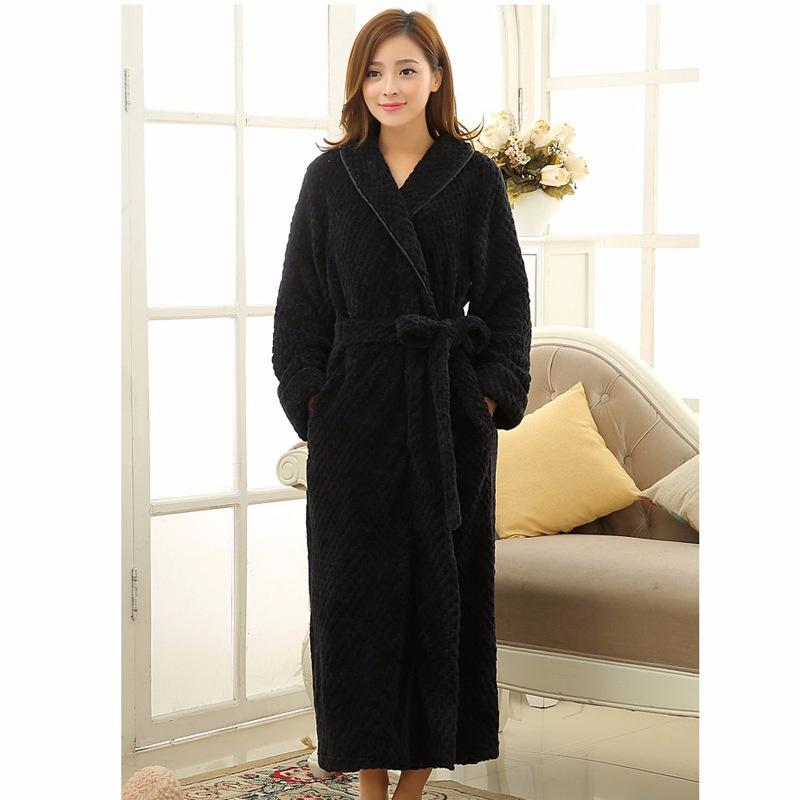408579621c Women House Pajamas Cardigan Bathrobe Babe Cashmere Casual Couple Pajamas  Flannel Robe Pajamas Sleepwear Bathrobe Online with  42.18 Piece on  Max4075 s ...