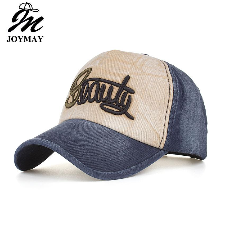 e7d45f2a Joymay Spring Leisure Hat Beauty Embroidery Cotton Snapback Men And ...
