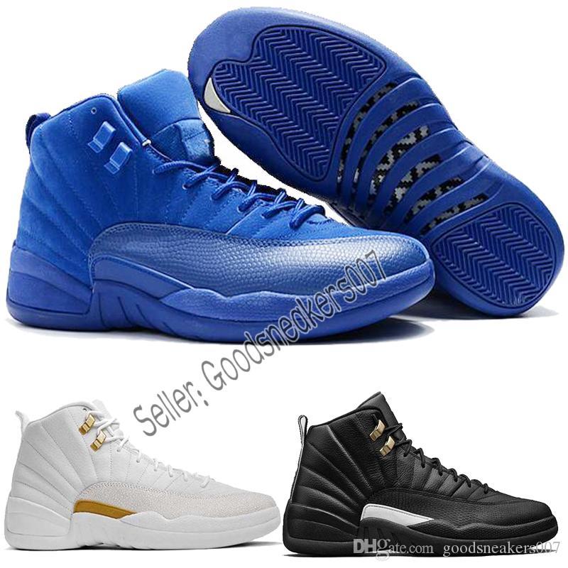 80ab2e149d8a NEW Cheap New Mens Women 12 12S XII OVO X White Man Basketball Shoes ...