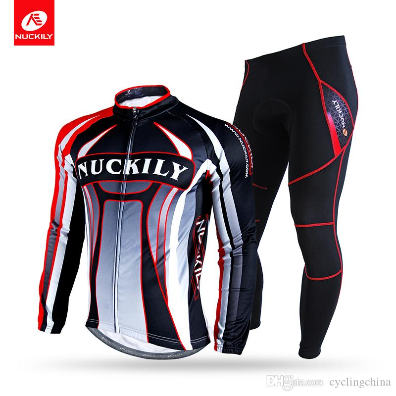 9b7c5a789 NUCKILY Winter Cycling Suit Men s Warmer Cool Design Long Jersey With  Tights Sport Wear Men Cycling Suit Winter Sport Wear Cool Design Sport  Jersey Online ...