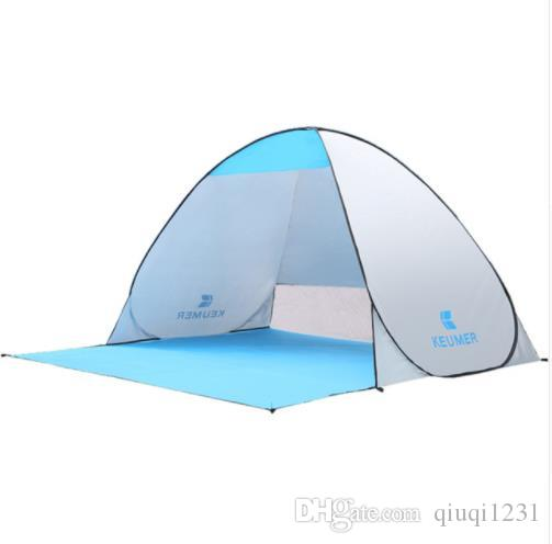KEUMER Automatic C&ing Tent Ship From RU Beach Tent 2 Persons Tent Instant Pop Up Open Anti UV Awning Tents Outdoor Smart Health Products Smart Natural ...  sc 1 st  DHgate & KEUMER Automatic Camping Tent Ship From RU Beach Tent 2 Persons Tent ...
