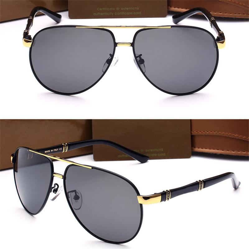 8aba09b167 New Brand Sunglasses With Metal Square Shape Retro Mens Designer ...