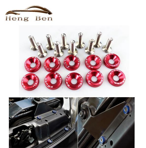 HB Universal 6mm Fender Washers washers and bolt Aluminum for Civic Integra RSX EK EG DC