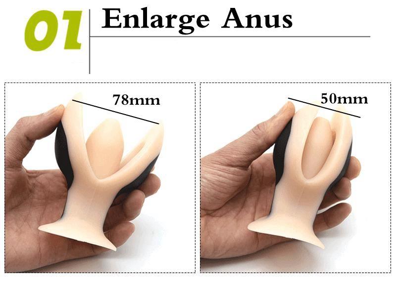 Electro Shock Vibrating Anal Dilator Butt Plug Electric Anal Plug Prostate Massager Bullet Vibrator Sex Toys For Men Woman Gay