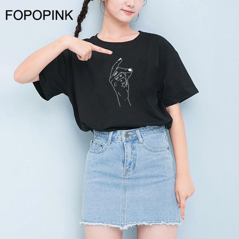 c16fc356 T Shirts Women Snap Out Of It Hand Print Funny Short Sleeve Black Casual  Coon Tshirt Female Camisetas Mujer Verano 2018 Z40 Humor Tees Funny Tee  From ...