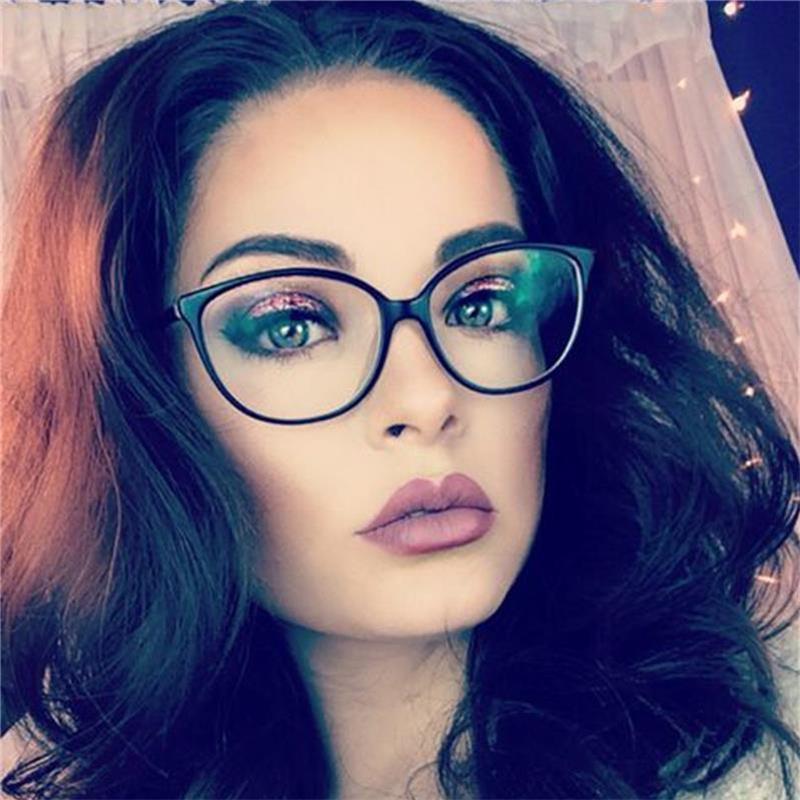 baa2d728d5 2019 UVLAIK Fashion Cat Eye Optical Glasses Frames 2018 Transparent Glasses  Women Frame Ultra Light Frame Clear Lens Eyeglasses From Stirringoa