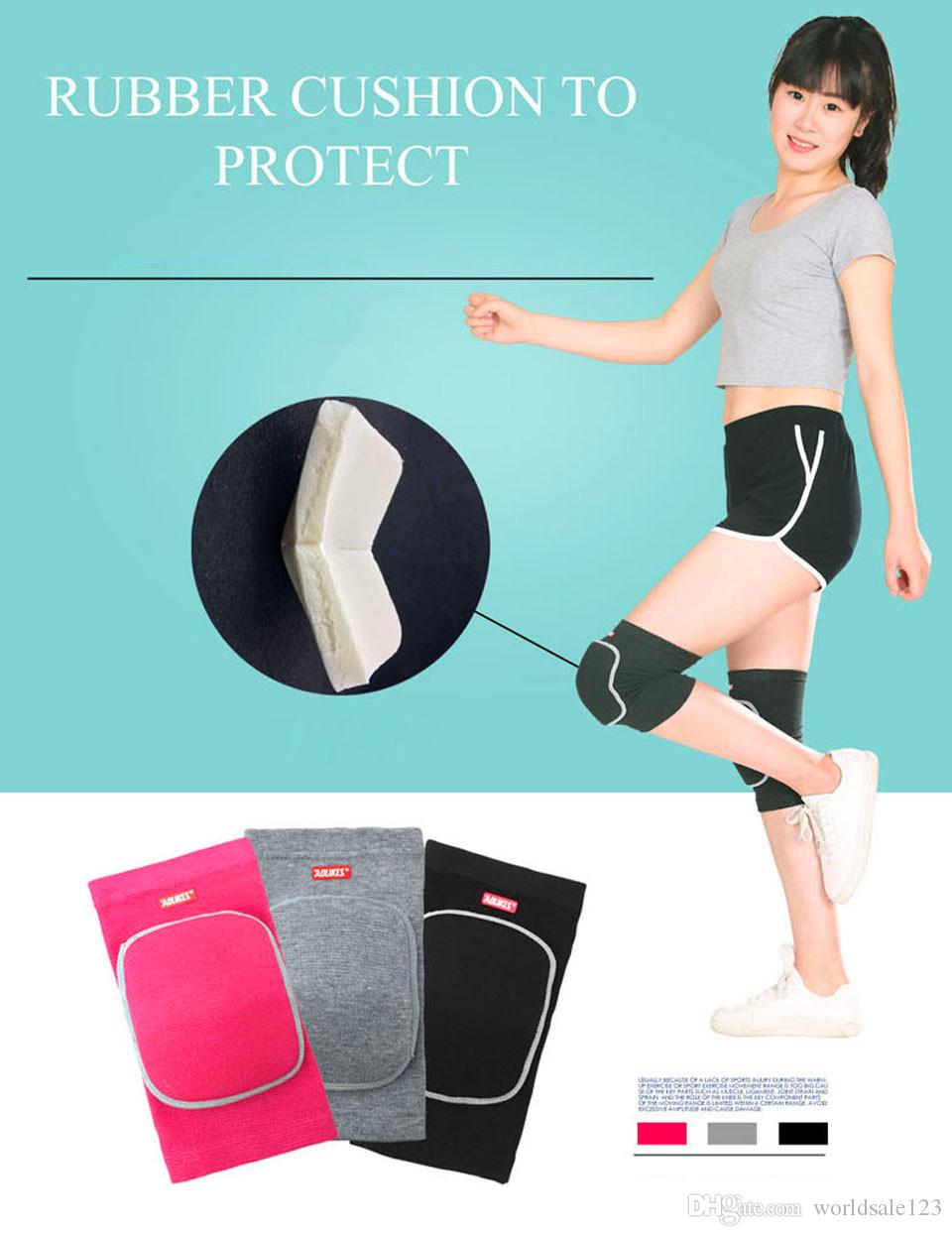 2Pcs Women Man Kids Dance Volleyball Tennis Knee Pads Baby Crawling Safety Knee Support Sport Gym Kneepads Children Knee Protection