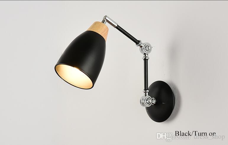 Acquista lampada da parete orientabile con lampade da comodino a