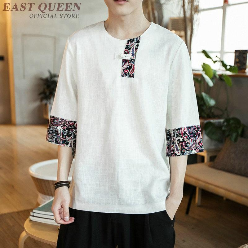 591cc14e0d9 2019 Traditional Chinese Clothing For Men Cheap Clothing China Chinese  Shirt Casual Loose Fashion Tops Shirts Summer 2018 AA3829 Y A From Worsted