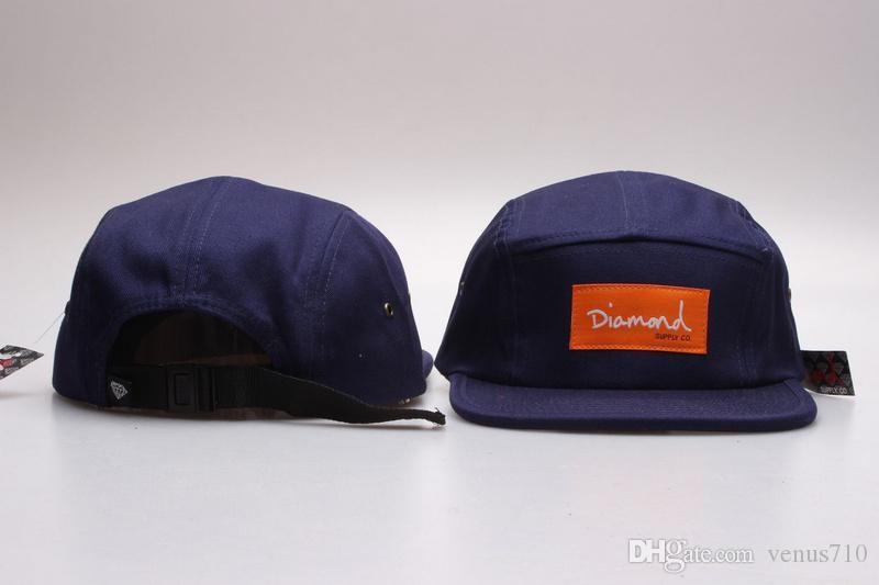 c7b099fa35723 Wholesale 20 Style Five 5 Panel Diamond Snapback Caps Hip Hop Cap Flat Hat  Hats For Men Casquette Gorras Planas Bone Aba Reta Toca Baseball Caps  Custom Hats ...