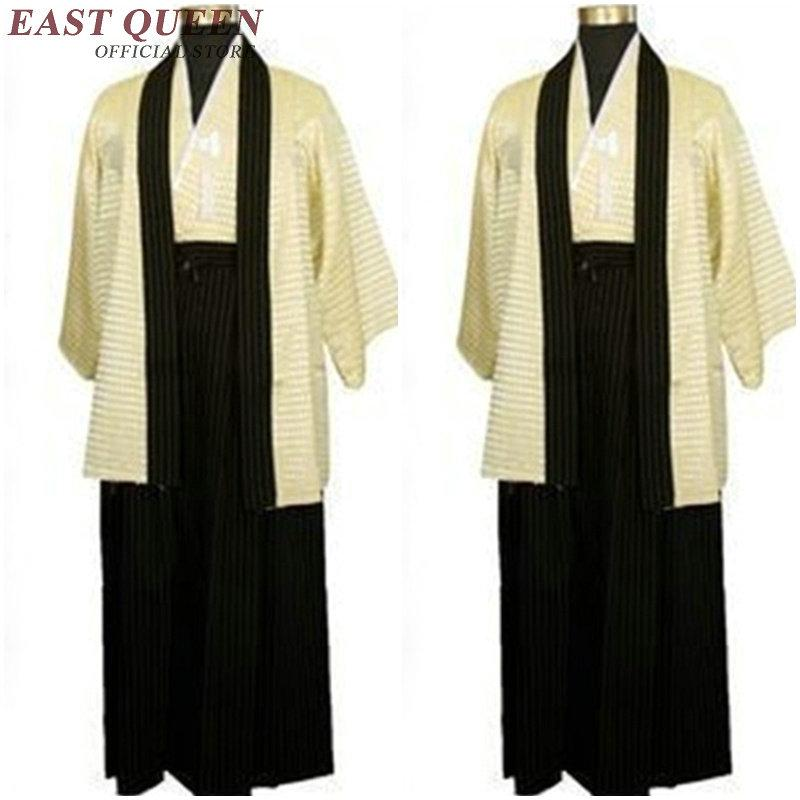 2b984864e56 2019 Traditional Japanese Mens Clothing Japanese Kimono Samurai Clothing  Karate Men Japan Kimono Cosplay NN0294 C From Stripe