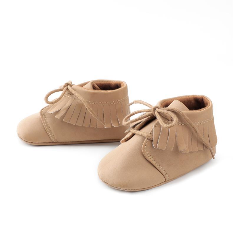 98ebd823c5d57 toddler baby shoes newborn crib shoes anti-slip booties first steps fashion  boy girl moccs spring autumn dropship wholesale