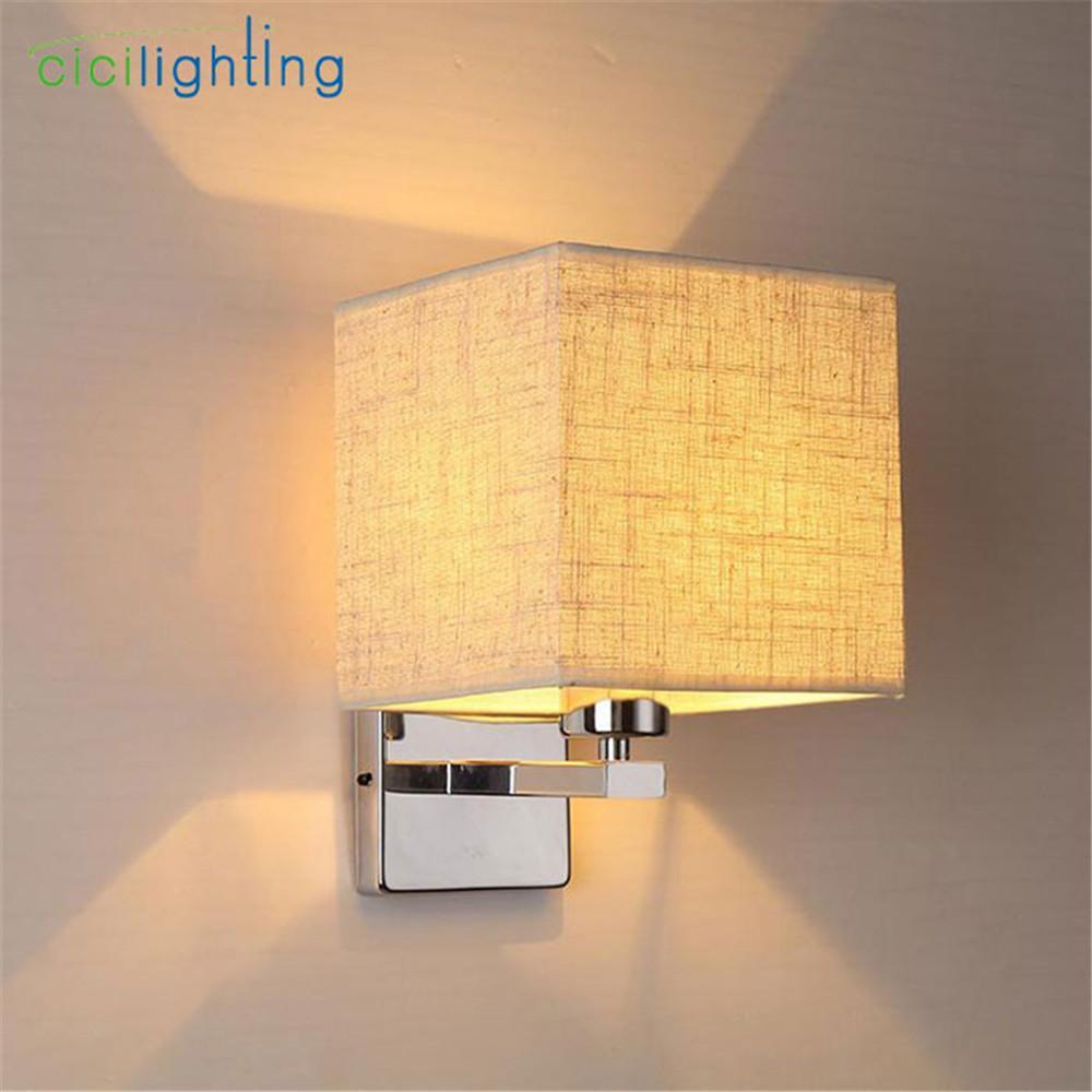 acheter applique murale moderne lampe de chevet chambre hôtel