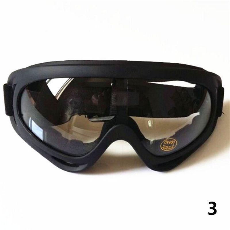Fabrika fiyat Siyah Çerçeve Kar Gözlüğü Rüzgar Geçirmez Motosiklet Kar Araci Kayak Gözlükleri Gözlük Spor Koruyucu Güvenlik Gözlükleri out331