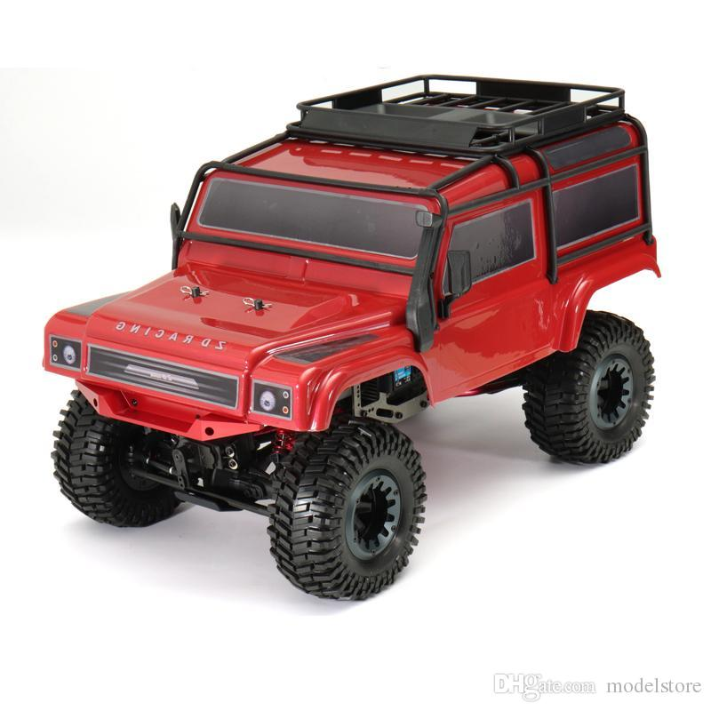 ZD 1:8 08422 2.4G 4CH 4WD Long Distance 200M Rc Car Crawler Truck