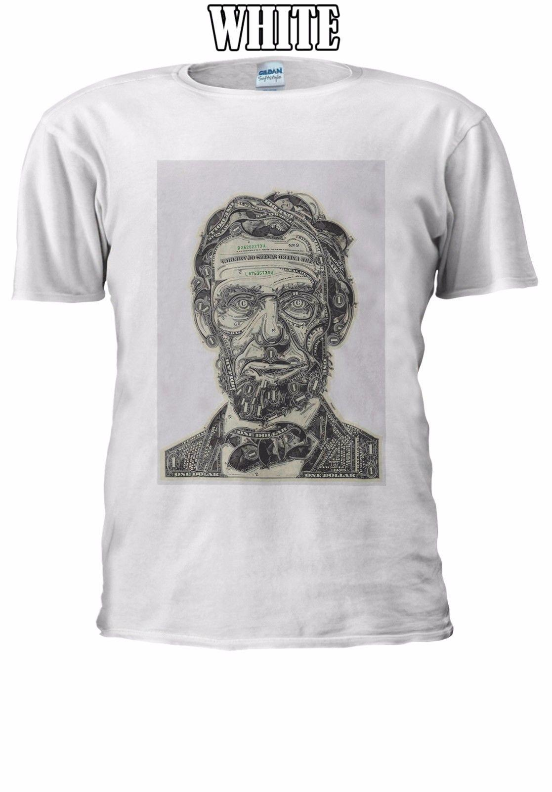 dd65052f7 Abraham Lincoln Dollar Face Tumblr T-shirt Vest Tank Top Men Women Unisex  2608 Cool Casual Pride T Shirt Men Unisex New Abraham Lincoln Cheep T  Shirts T- ...
