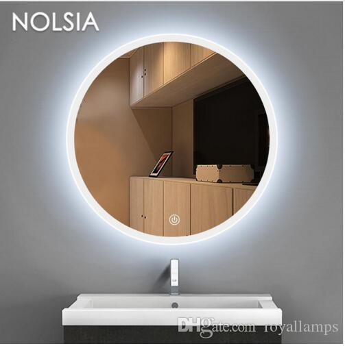 2019 Round Dressing Room Led Mirror Light Luminaria Bathroom Toilet