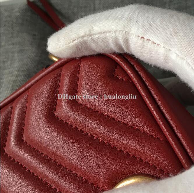 Großhandelsrabatt echtes Leder ursprüngliches Kastenqualitätsfrauen-Kupplungsgeldbeutelmarken-Entwerferfrauen-Schulterbeutelhandtaschen-Kreuzkörperbeutel
