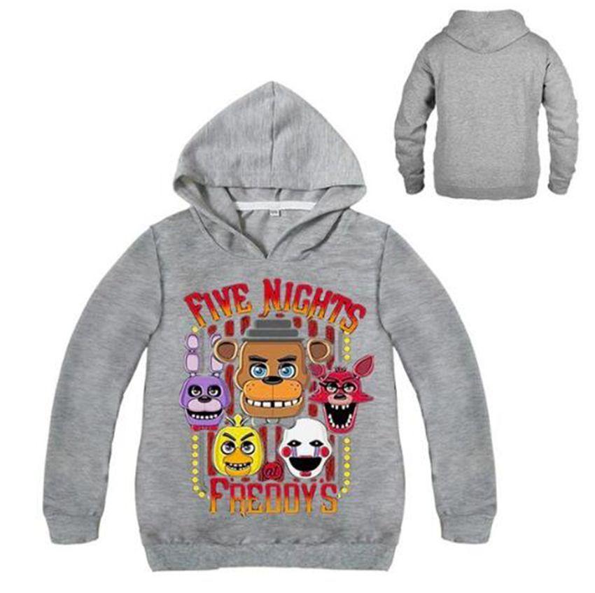 987cf4da267ce6 Boys Fnaf T Shirt Five Night At Freddy Hoodies Children Long Sleeve Clothing  Baby Boys T Shirt Kids Tee Sweatshirt Clothes Rain Jacket Boys Kids Winter  ...