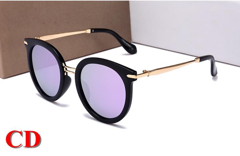 9370f652f4b Luxury Fashion Oval Sunglasses Women Brand Deisnger UV Protection Summer  Style Adumbral Glasses Coating Unisex Split Sunglass Mirror Lenses Fashion  Oval ...