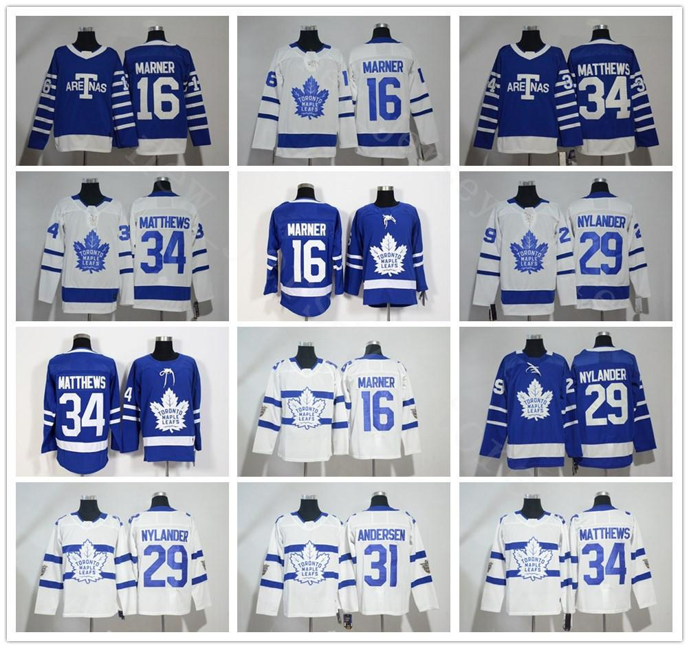 pretty nice 10475 25988 2018 Stadium Series Toronto Maple Leafs #34 Auston Matthews Jersey Hockey  16 Mitchell Marner 29 William Nylander 31 Frederik Andersen Jersey