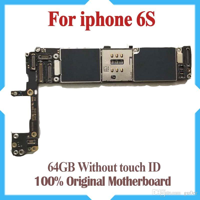 100% Original Unlocked For IPhone 6S Motherboard With IOS