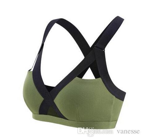 55f70d44a7d 2019 Sexy Push Up Sport Bras Women Padded Gym Fitness Bra Plus Size  Wireless Underwear Shockproof Running Yoga Bra Top From Vanesse