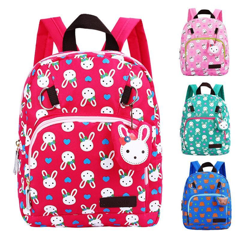 6e29094454eb Cartoon boys and girls nursery backpack small class shoulder bag  kindergarten school bag 1-3-6 year old cartoon cute backpack