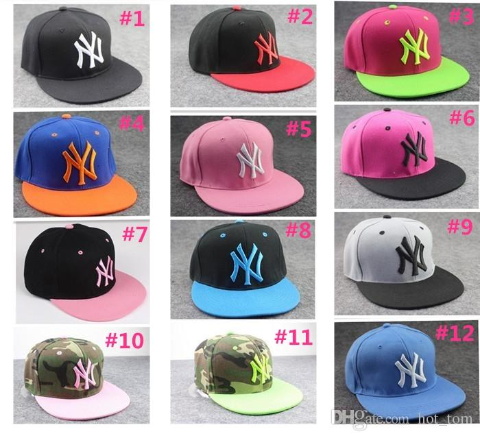 f401d82f93f Hot Sale Hip-Hop Hat Men And Women Ball Caps NY Snapbacks Baseball ...