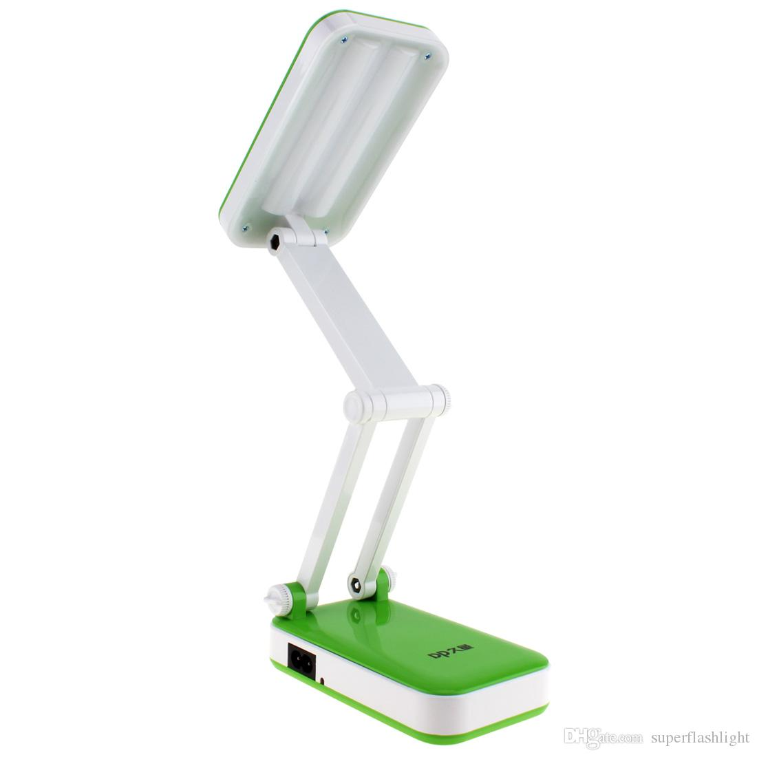 Lights & Lighting Securitying Usb Table Lamp Dimmable Led Desk Lamps Foldable Rechargeable Reading Table Lamp Light Clock Temperature Lamp