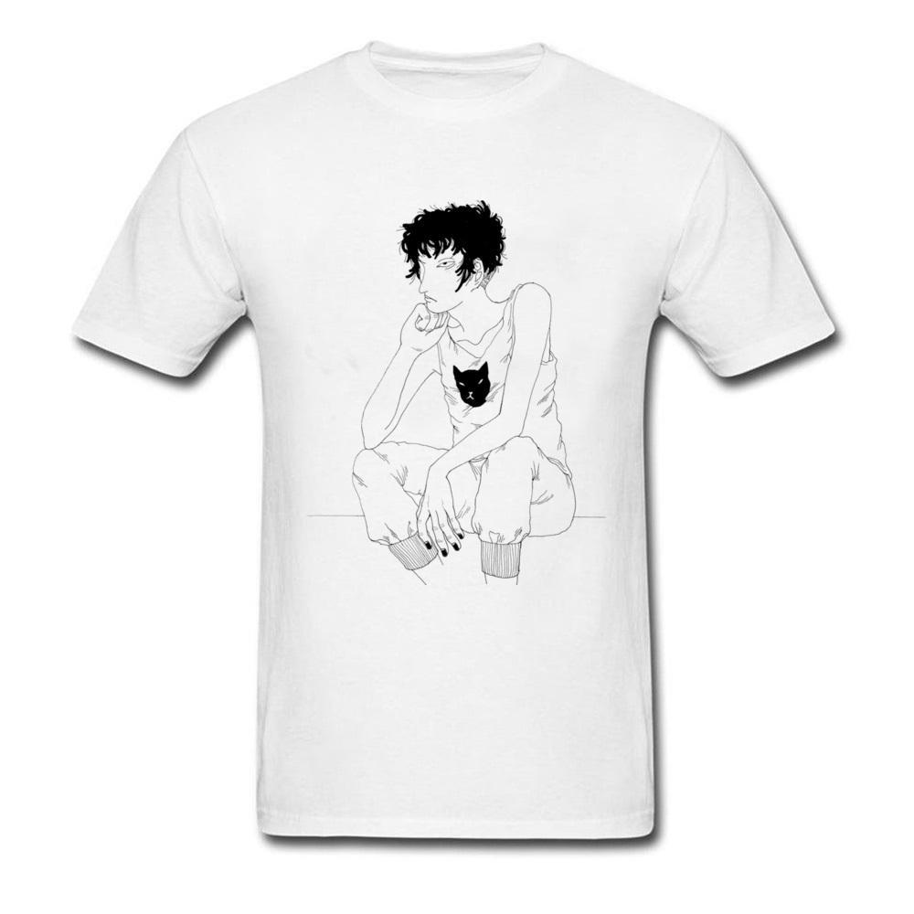 Grosshandel Zeichnung Sitzend Guy T Shirt Top Qualitat Herren