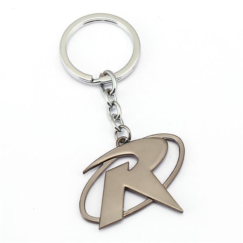 Robin R Keychain Superhero Bat Man Keyring Car Key Rings Holder