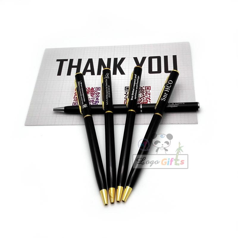 Wholesale items promotional products/ birthday gift ideas/ quality metal  pen with logo design service
