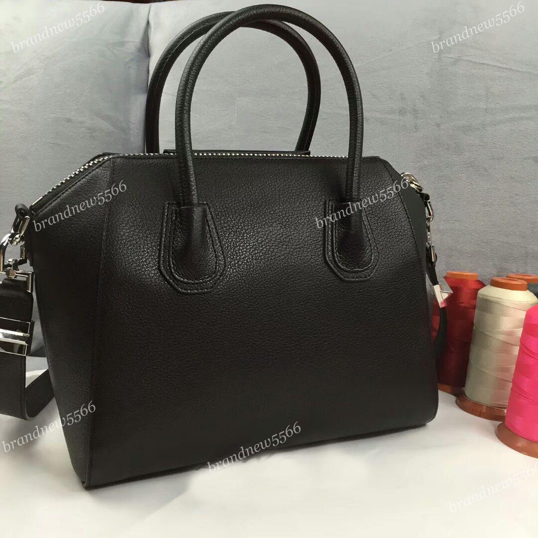 f6499eb915 Goatskin Leather Tote Bags Classic Small Women Totes Genuine Leather  Handbags Women Shoulder Bags Mix Colors Discount Designer Handbags Designer  Handbags On ...