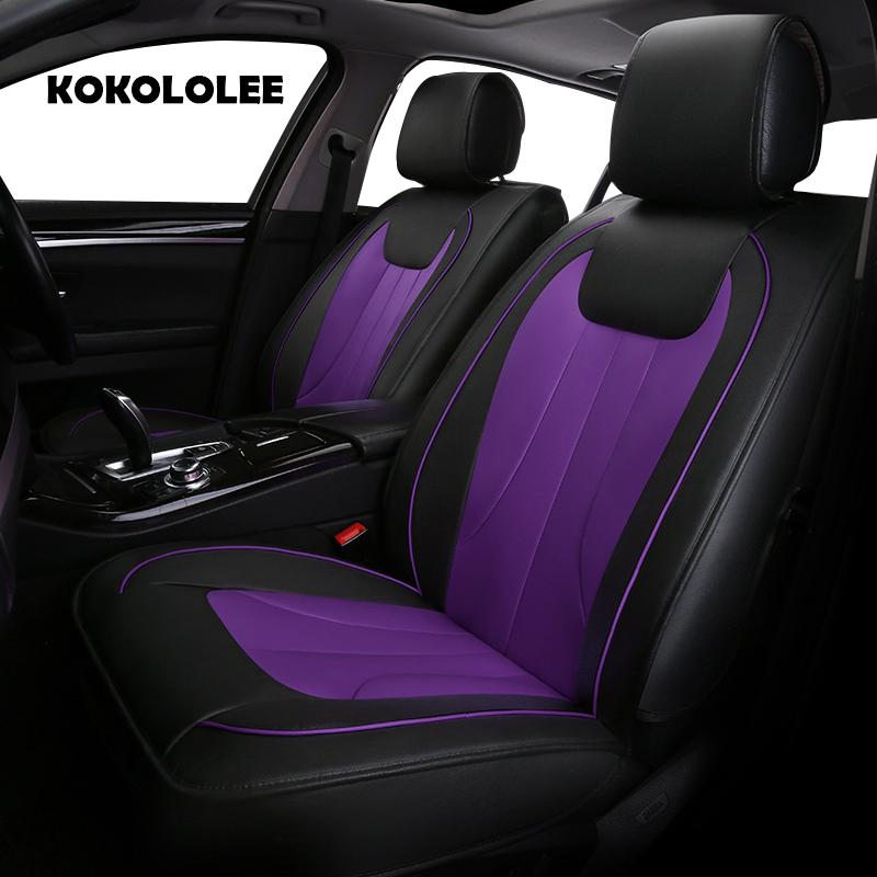Pu Leather Car Seat Cover For Suzuki All Models Jimny Grand Vitara Kizashi SX4 Wagon R Palette Stingray Auto Styling Vinyl Covers Trucks Waterproof