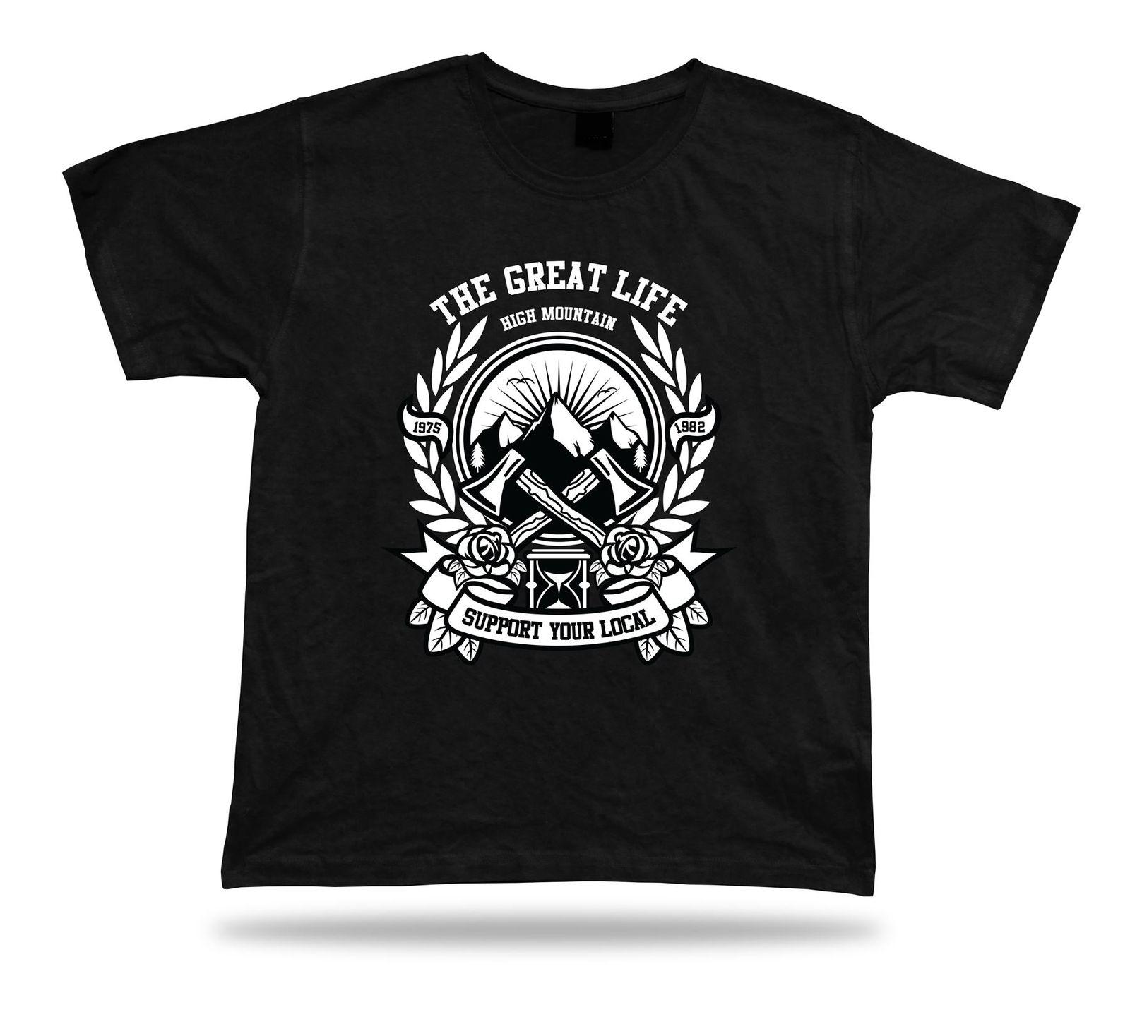 0bc8247d The Great Life Support Your Local Axe T Shirt Tee Design Vintage Gift  Apparel Make Your Own Tee Shirt Design Crazy T Shirt Design From Cooltees,  ...