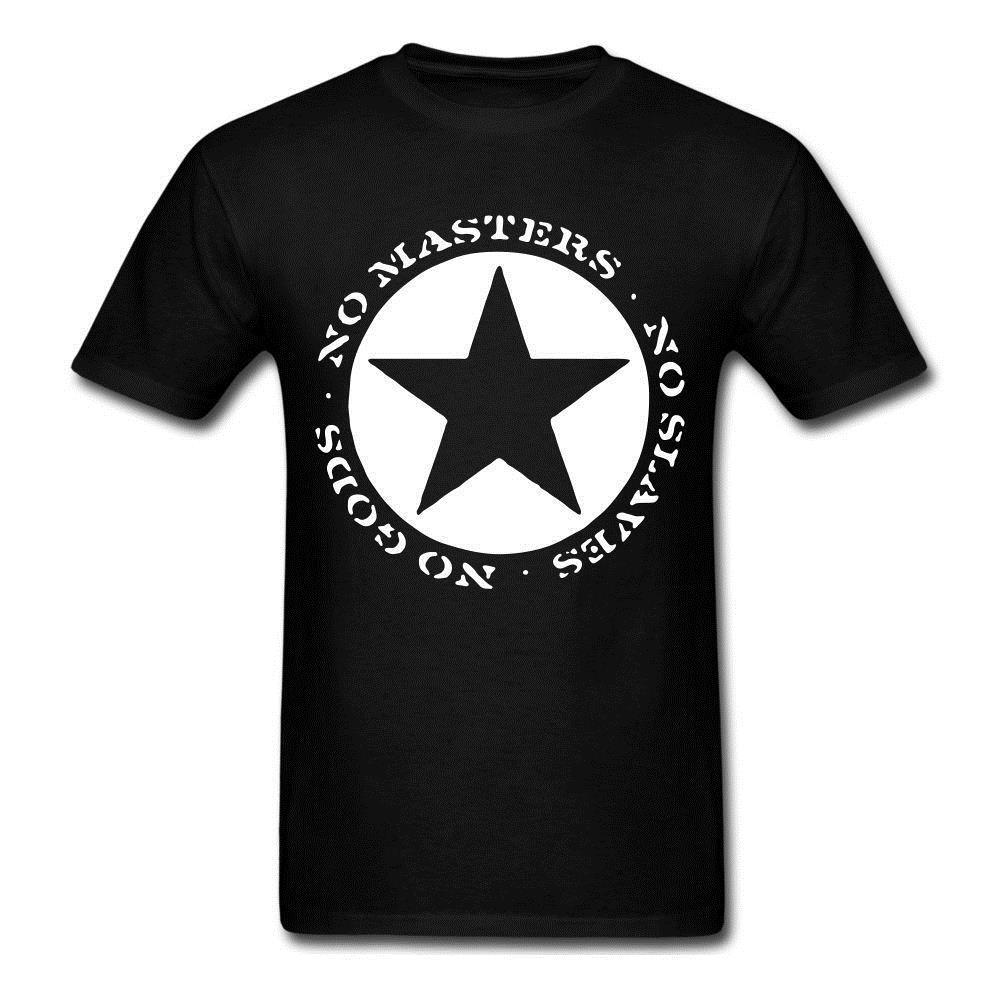 Make A T Shirts Online Mens Short Anarchist No Gods No Masters No