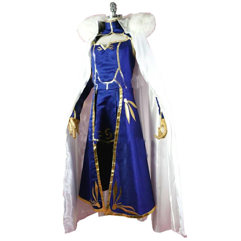 136225fb24ae6 Satın Al 2018 Kader Grand Sipariş FGO Lancer Ereshkigal Rin Cosplay Kostüm,  $135.67 | DHgate.Com'da