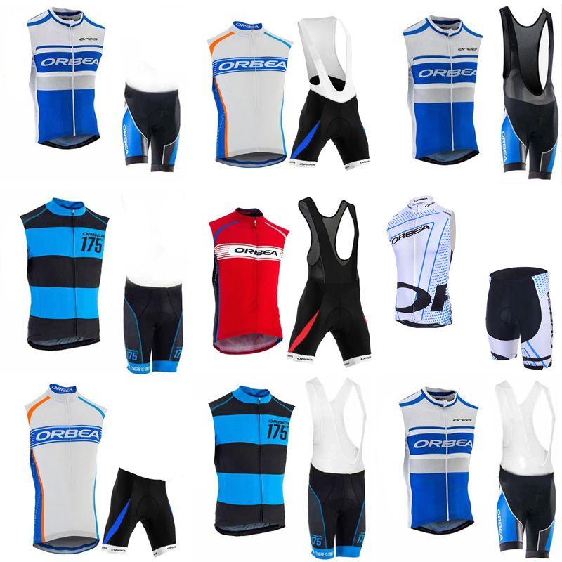 ORBEA Team Cycling Sleeveless Jersey Vest BibShorts Sets Hot Sale Bicycle  Racing Suit Mountain Bike Road Bike Set C2309 Mountain Bike Trousers Best  Mountain ... 5110578b7