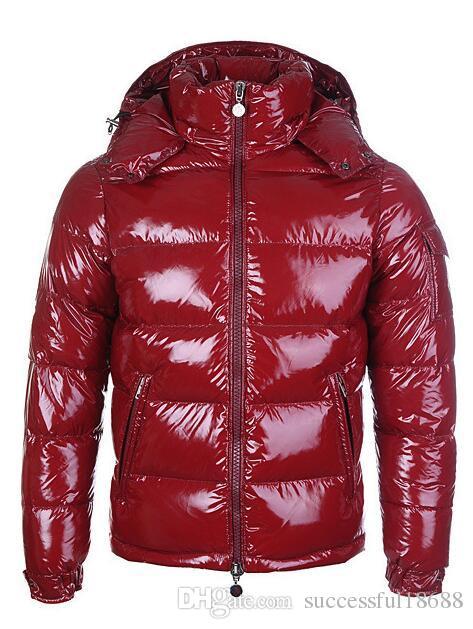 0ab1059bb New Men Casual Down Jacket Maya Down Coats Mens Outdoor Warm Feather Man  Winter Coat outwear Jackets Parkas