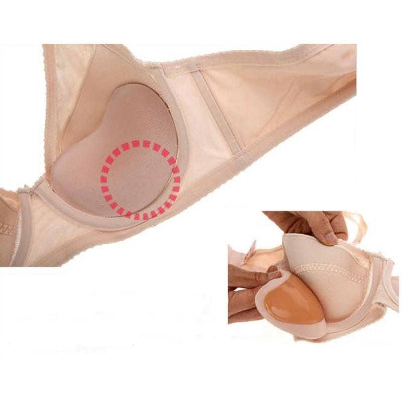 e6a7b12862 Sexy Nipple Cover Pasties Chest Paste Silicone Inserts Breast Pads Sponge  Women Self Adhesive Push Up Bra Accessories Bra Accessories Chest Paste  Nipple ...