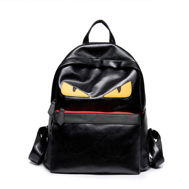 Luxury Backpack Famous Designer Women Men Travel Backpack Casual Student  School Bags Teenagers High Quality Moster Cute Bookbag Backpacking Backpacks  ... 8897347e2584c