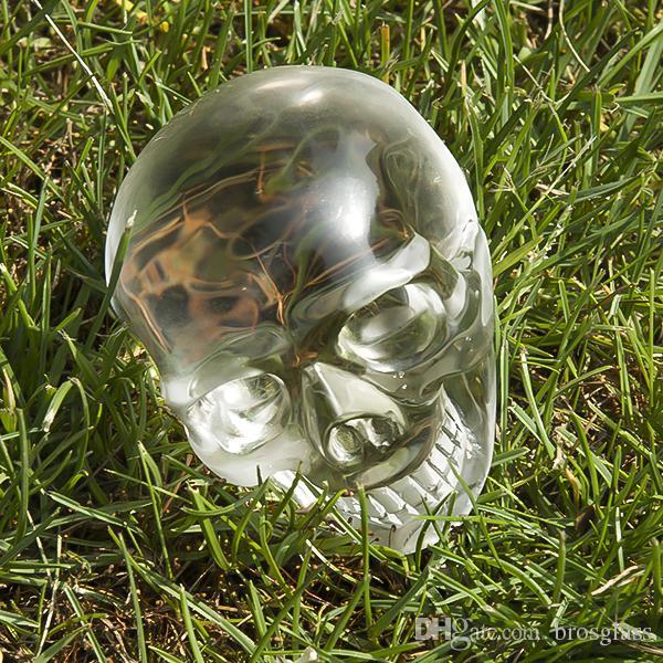 Quarzo Home Decor Skull Legth 62 millimetri Dia 70 millimetri di cristallo di quarzo intagliato teschio Healing Home Decor Accessori