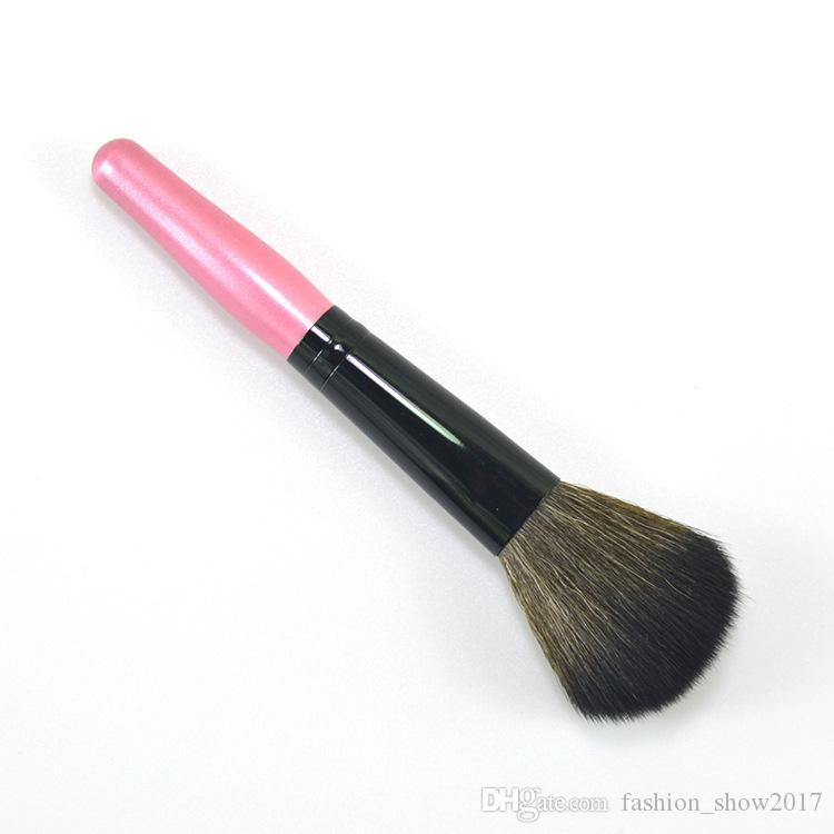 Pudra Allık Fırçası Profesyonel Tek Yumuşak Yüz Makyaj Fırça Büyük Kozmetik Makyaj Fırçalar Vakfı Aracı Makyaj