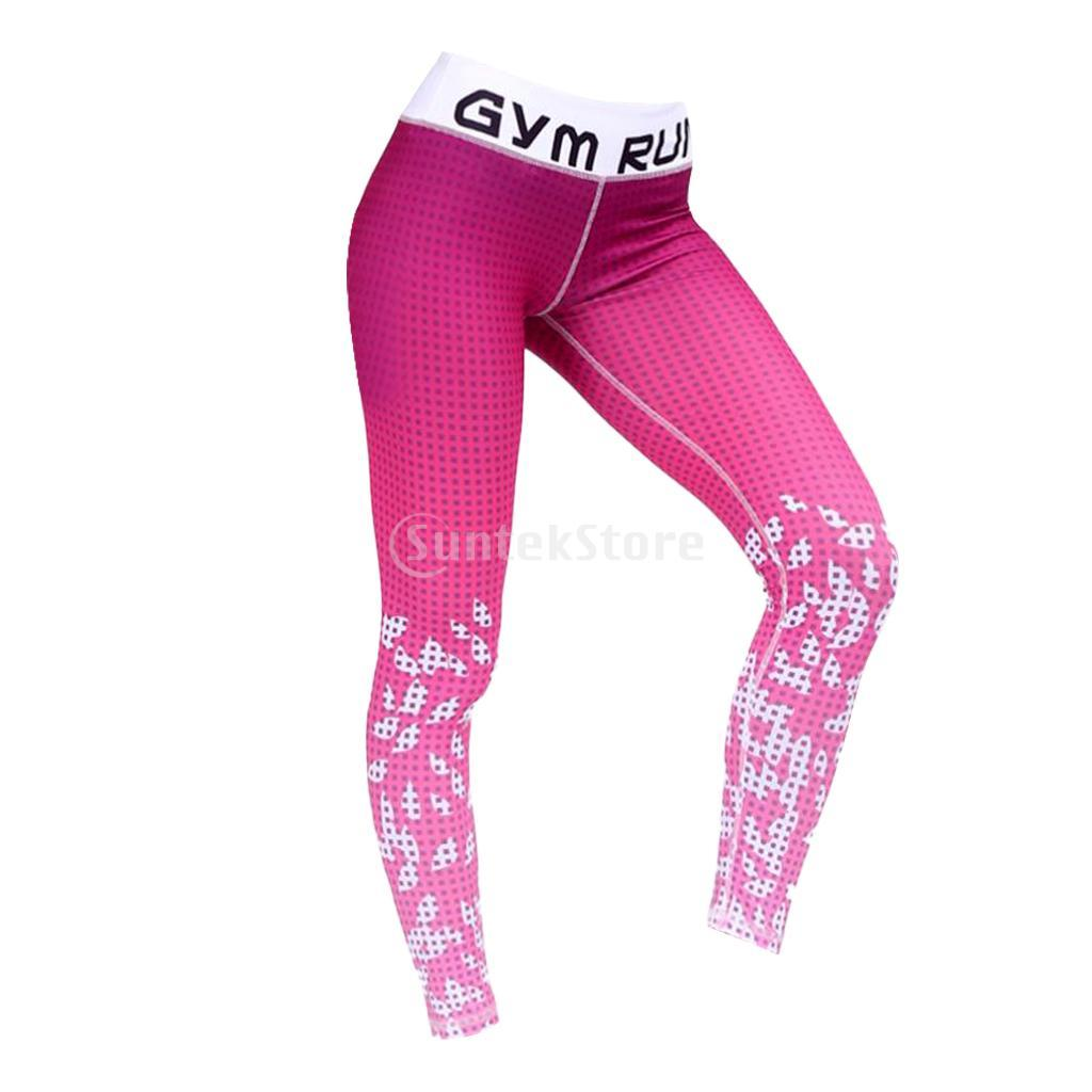6d6972c159 Stretchy Yoga Fitness Running Leggings Gym Exercise Workout Fitness Sports  Pants Stirrup Leggings (S-XL)