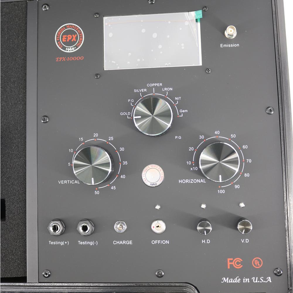 Nouveau détecteur de métaux souterrain Ranger de la gamme de distances de détection EPX10000 longue de 100-1000 m