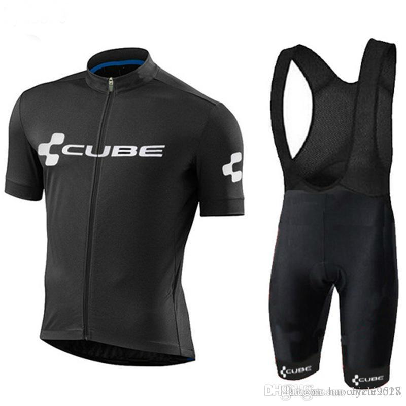Pro 2018 New Summer CUBE Cycling Jerseys Set Men MTB Bicycle Clothes ... a7a968d52