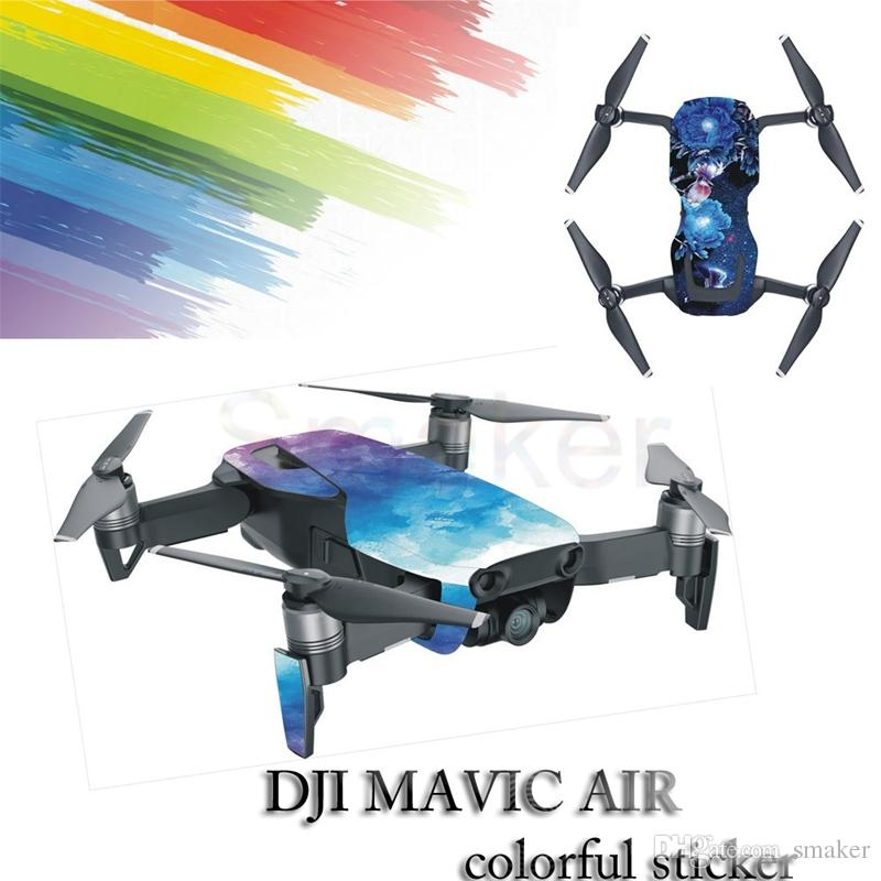 Sticker for DJI MAVIC AIR Sticker body waterproof personality Shell  Protection leather sticker carbon fiber Drone Accessories