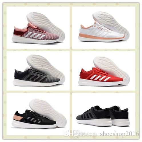 891fd1346d5b4e Cheap Men Women CF Qtflex Shoes White Pink Trainers Sneakers With ...