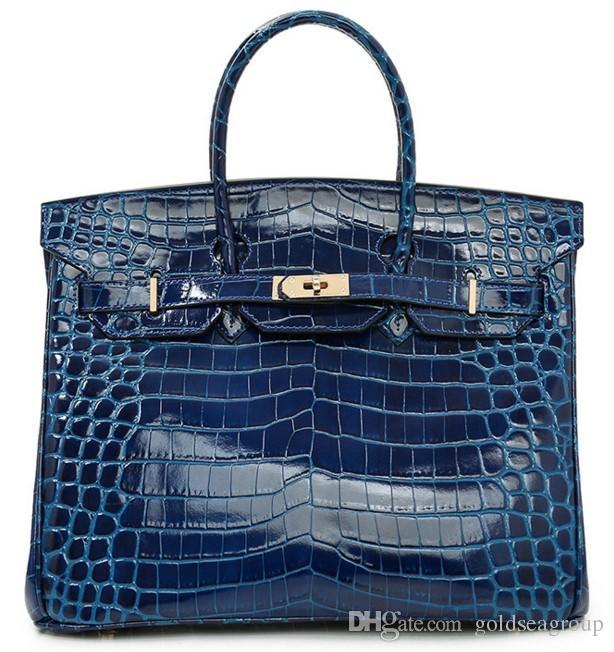 25fef9b28efa Crocodile Tote Shoulder Bags Emboss Ostrich Wholesale Women Handbag Tote  Lady Purse IT AU France Togo Genuine Leather Bag Paris US EUR Crocodile Bags  ...